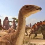 """Paleontólogos descubren un enorme """"retrete"""" de dinosaurios."""