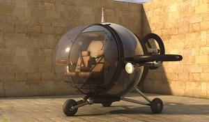 El citycopter, tu helicóptero personal.
