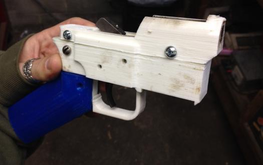 pistola impresa 3d