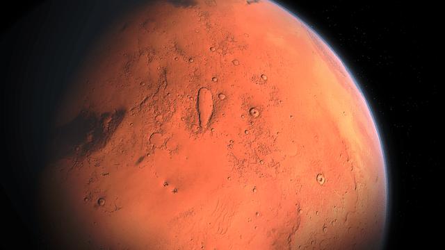 Marte tuvo anillos