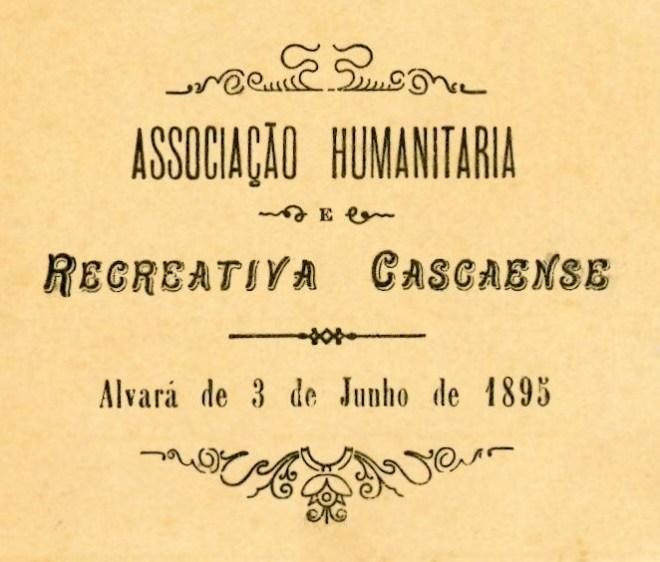 ALVARÁ DA ASSOCIAÇÃO HUMANITÁRIA CASCAENSE