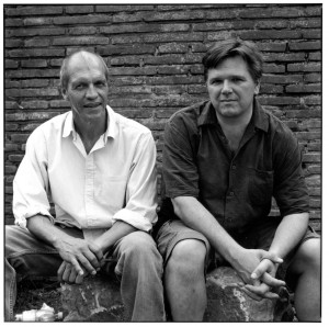 Jairo Cuesta e Jim Slowiak