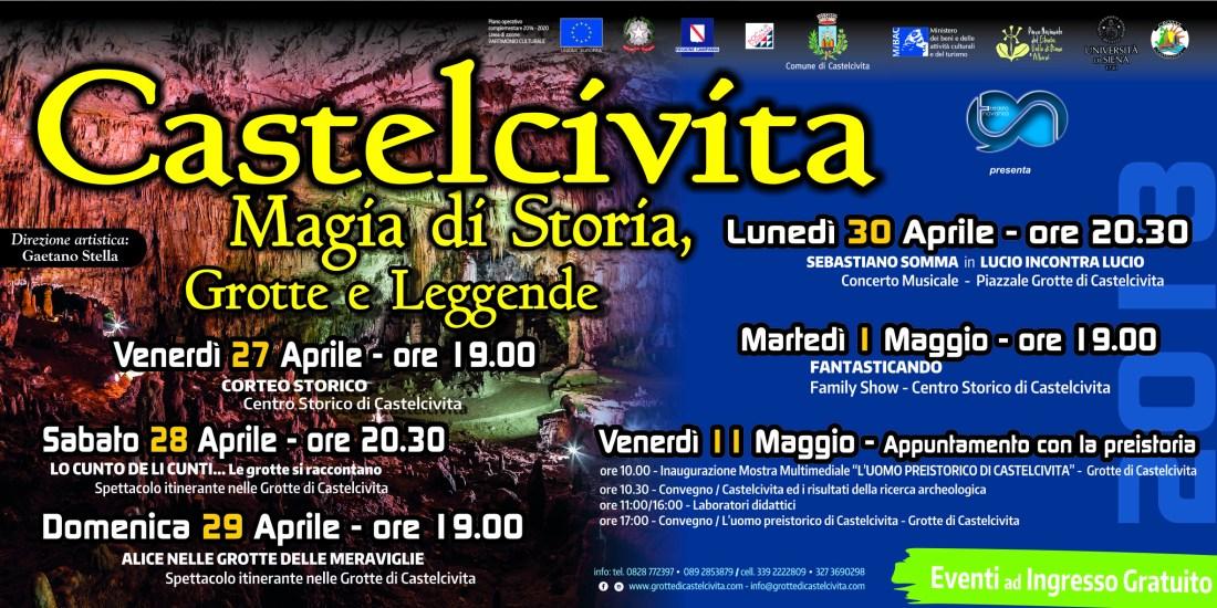 Castelcivita Storia e Leggenda DAL 27 APRILE AL 11 MAGGIO