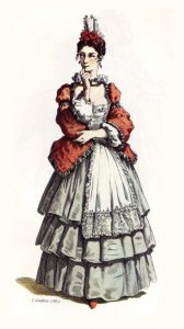 Colombina, commedia dell'arte