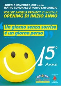 opening di inizio anno - volley angels project