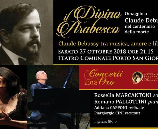 Il divino Arabesco Debussy: al via la stagione teatrale