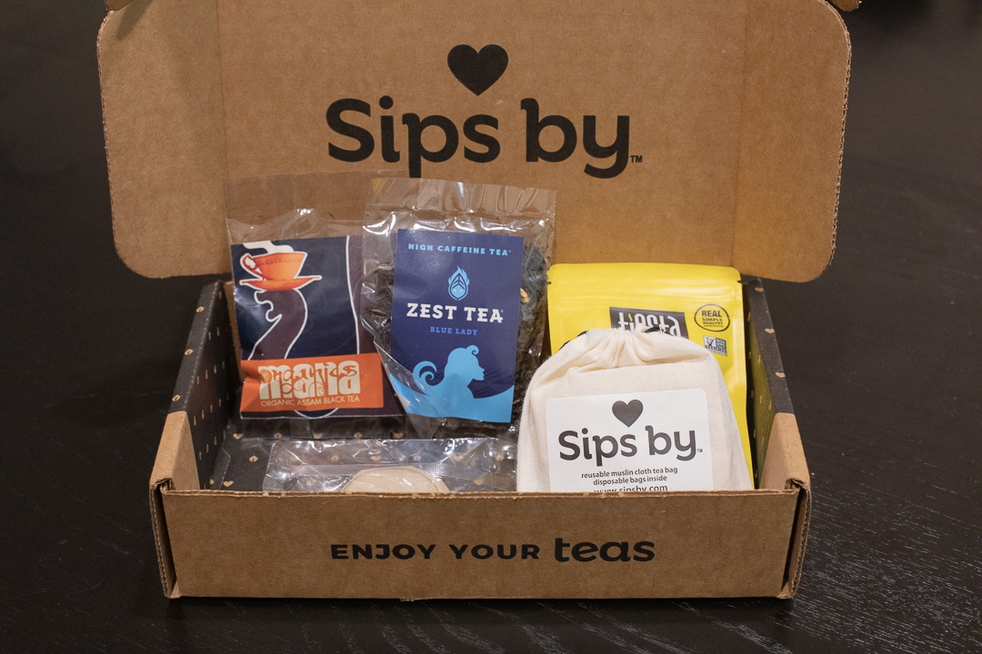 Sips By Tea Subscription Box Review - January 2018