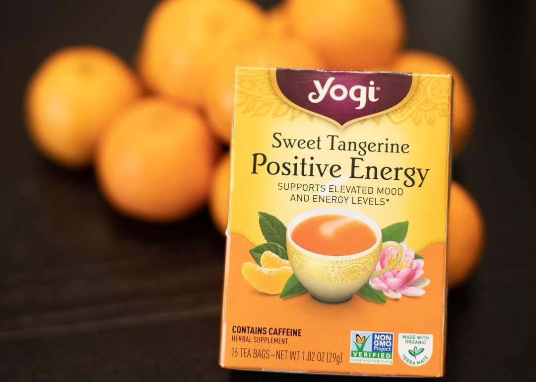Yogi Tea Sweet Tangerine Positive Energy Review