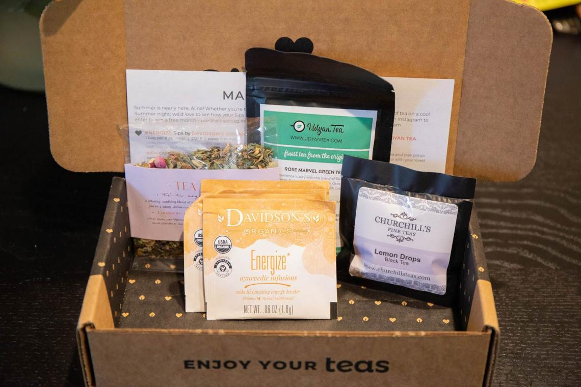Sips By Review - June 2019 Tea Subscription Box