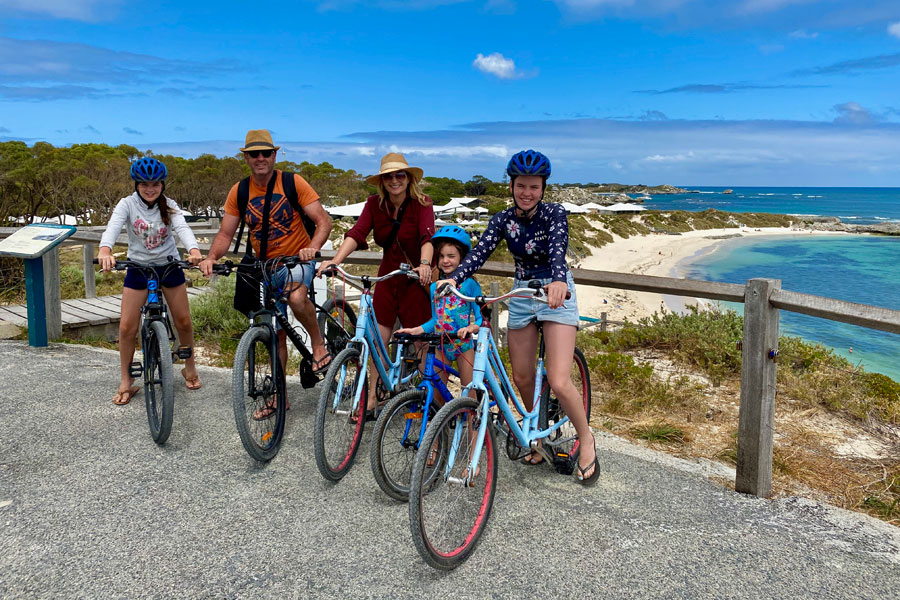 Cycling Rottnest Island