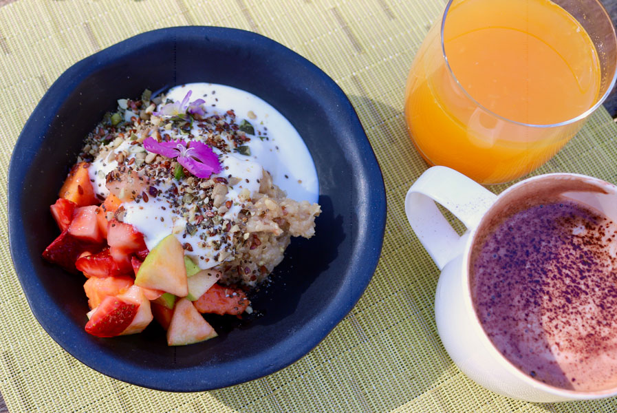 Nightfall Glamping Experience - Breakfast Course 1