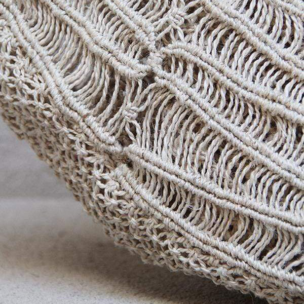 Summer Macrame Bag Detail