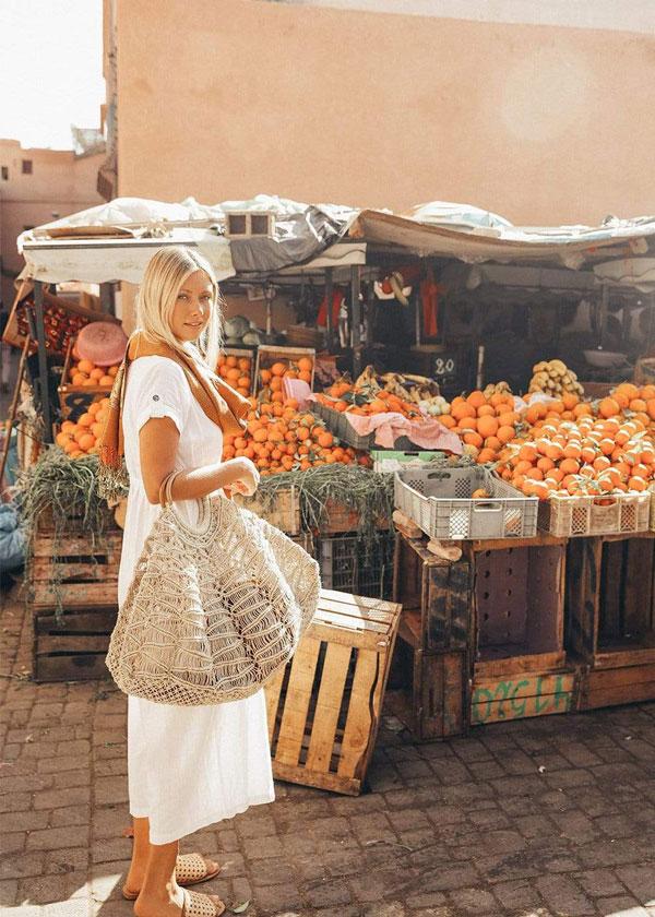 Sumer Macrame Bag at Market