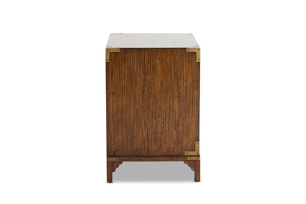 Treasure Chest Bedside Table End View