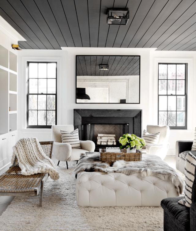 Using Ceiling Colour to Alter the Feeling of Ceiling Height