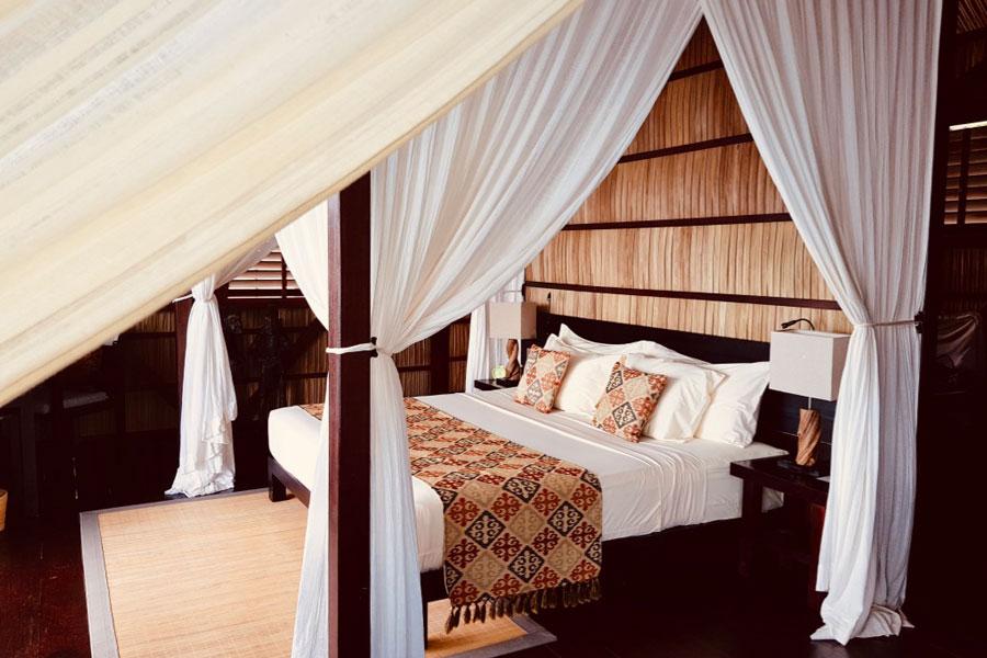 Our Bungalow Interior - Luxury in Raja Ampat