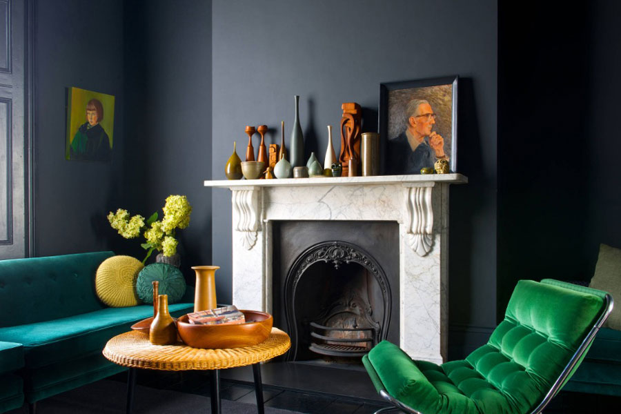 An Analogous Colour Palette of Blue Green & Blue