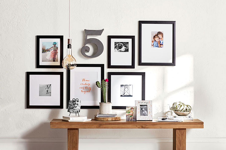 Make The Most of Your Photos & Create A Gallery Display