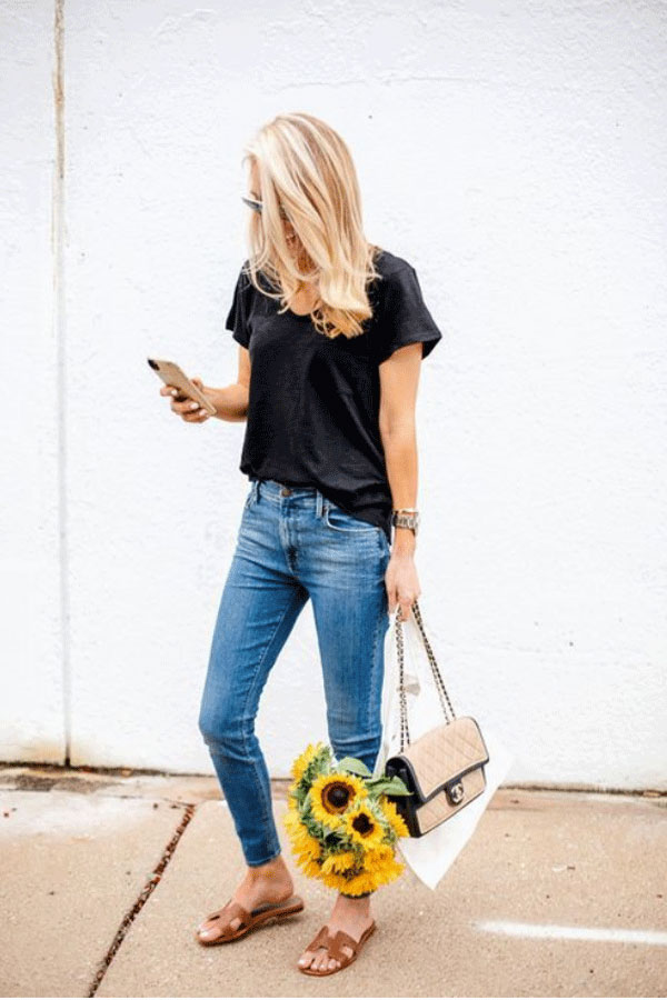 Style Your Black Tee for Everyday