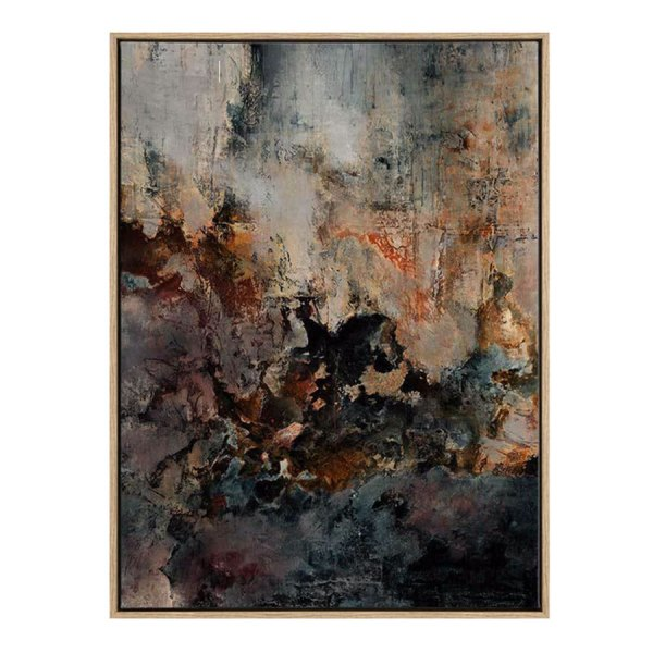 Oxidise 3D Framed Canvas Print