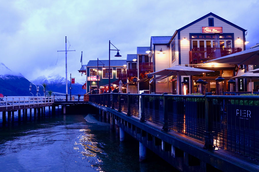 The Waterfront in Queenstown