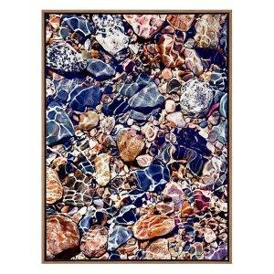 Tide Pools Framed Art Print