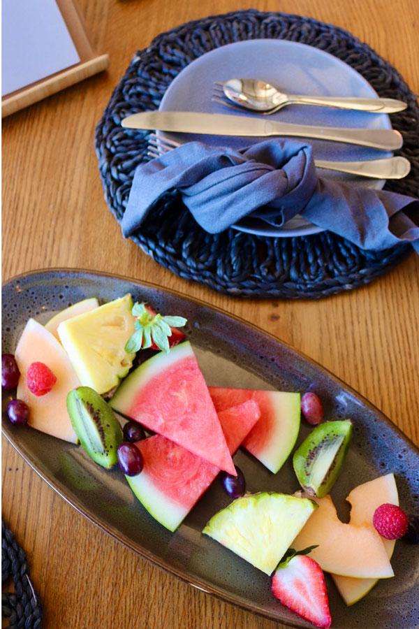 Breakfast Fruit Starter Plate