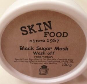 skin food black sugar mask wash off