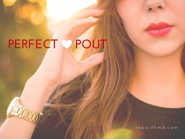 Keep your pout perfect with these tips!