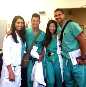 Leading a wards team as a second year medicine resident.