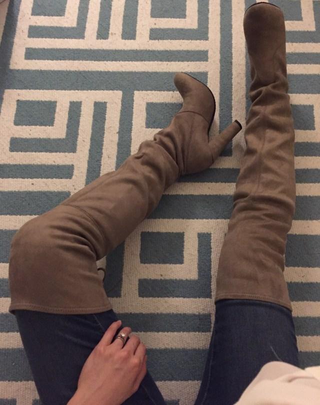 Steve Madden Gleemer Thigh High boots