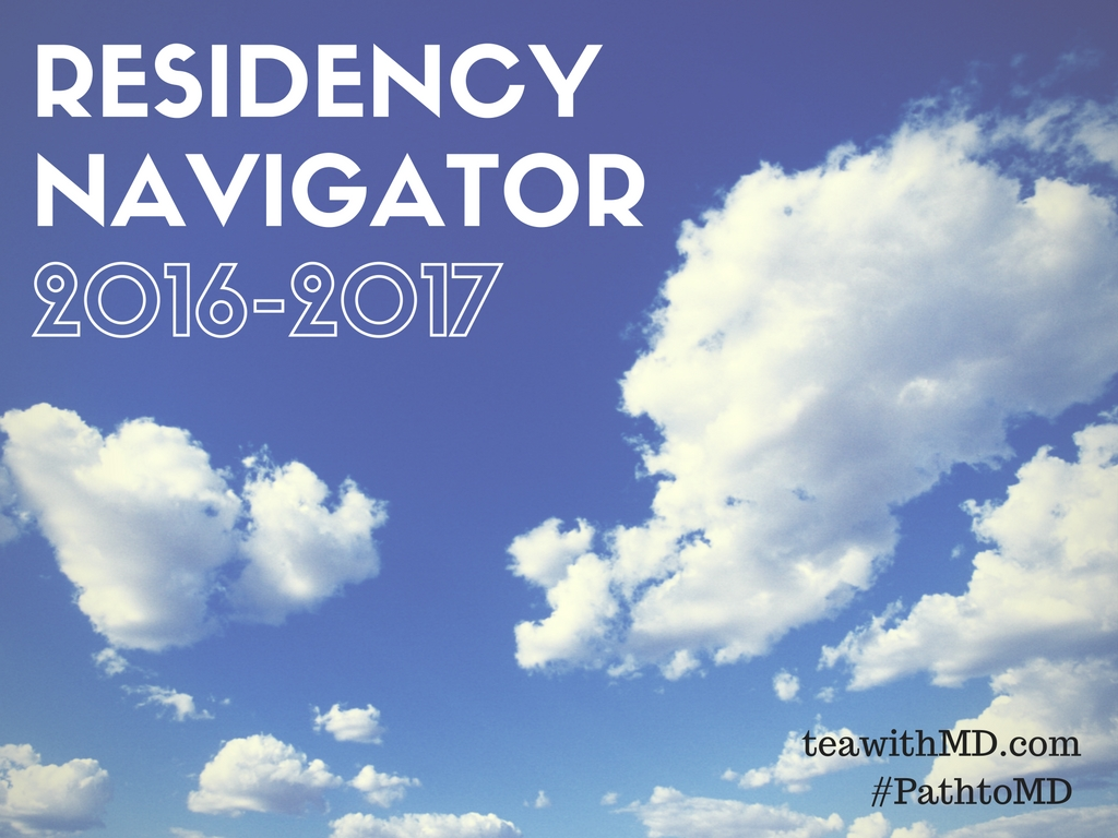 Doximity Residency Rankings 2016-2017 - Tea with MD - your guide to