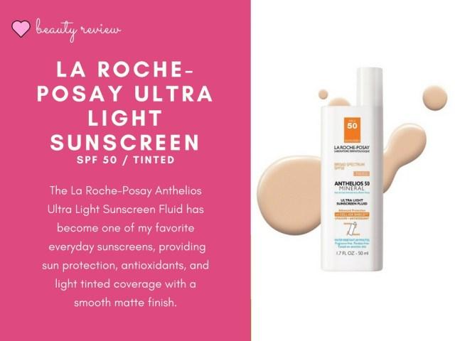 La Roche Posay Ultra Light Sunscreen Fluid review