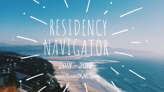 Doximity Residency Navigator 2018 - 2019 - Tea with MD - your guide