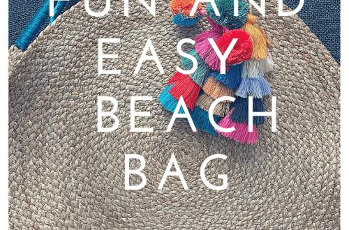 Fun and easy beach bag title