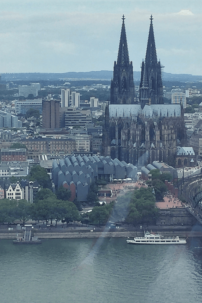 Cologne in a Day: view from the KölnTriangle
