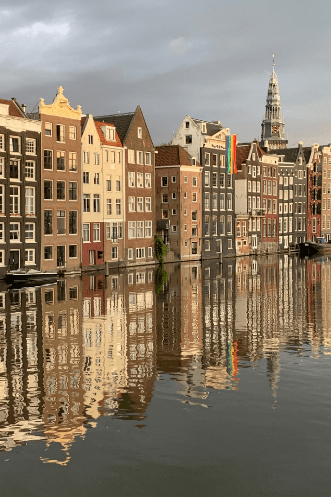 Damrak: some of the best panoramas in Amsterdam and one of the first stops on our 'best trip ever'