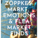 The Zöppkesmarkt,emotions and my flea market finds: when living life without someone gets you down and you need a positive memory to move on
