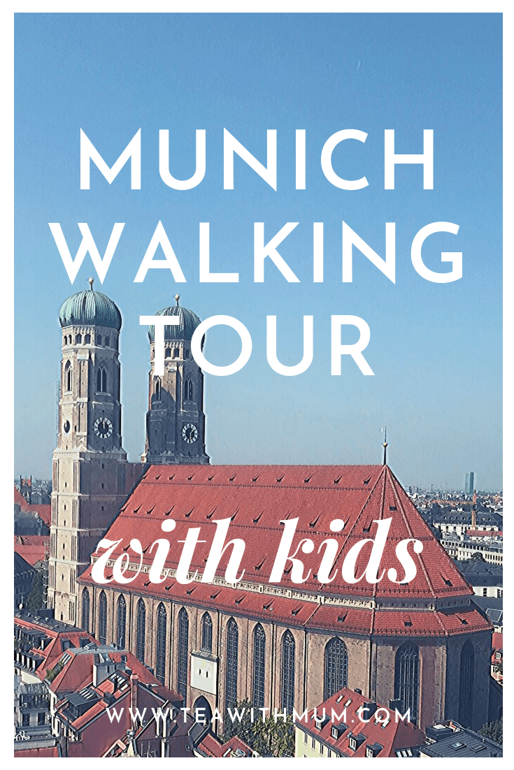 A walking tour of Munich with kids; see the kid-friendly Munich highlights; Frauenkirche
