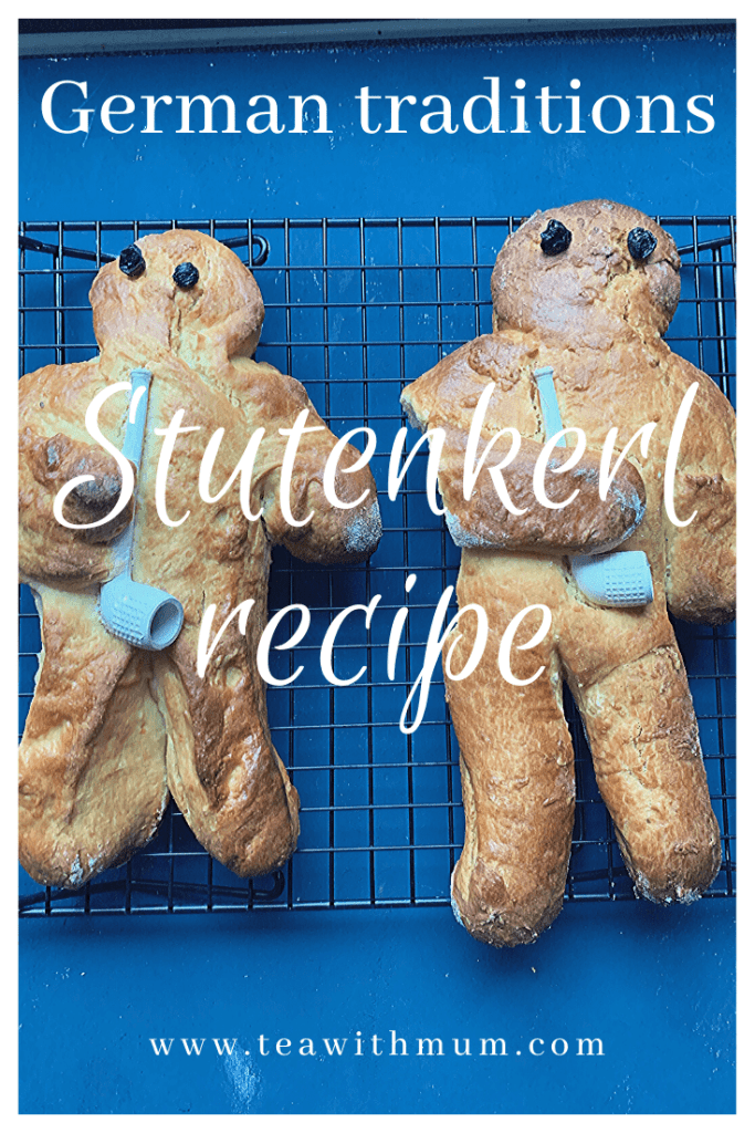 Stutenkerl recipe; St Martins traditions; Weckmann recipe; Two Stutenkerle; traditional German seasonal baked good