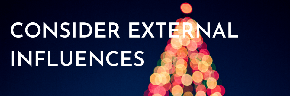 Combining Christmas cultures: Tip 1 - consider external influences, such as what you child might hear from the local environment, TV, other family members, etc.