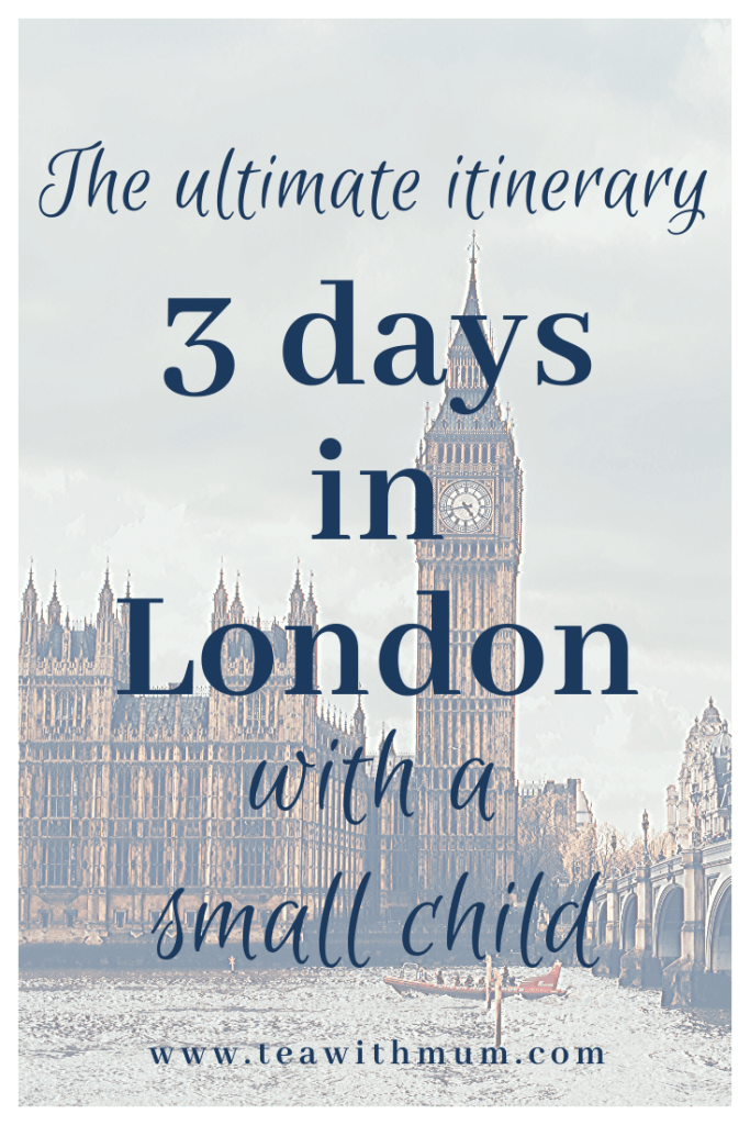 The ultimate London itinerary: Three days in London with a small child; image of the Houses of Parliament and Big Ben by Eva Dang on unsplash.