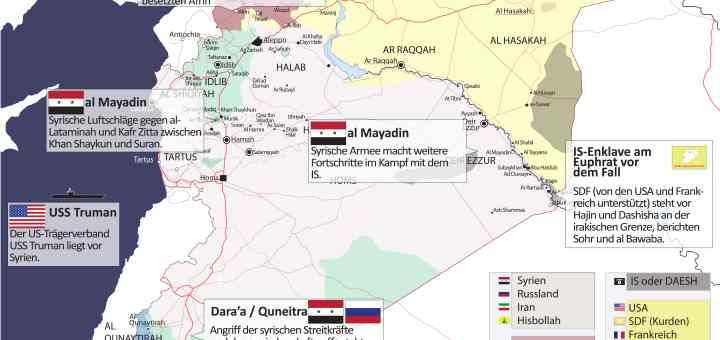 Syrien Karte Aktuell 2018.Tebel Report Infografik Syrien Krieg Aktuell Syria War Map Nr
