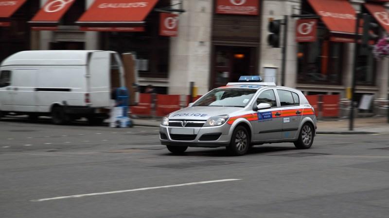 GROSSBRITANNIENS POLIZEI VOR DER KAPITULATION