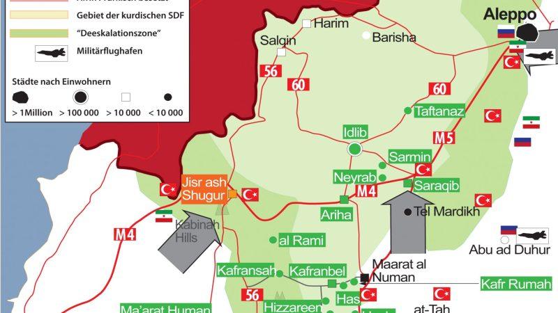 SYRIEN-KRIEG EXKLUSIV (Syria War Map) Nr. 55, 31. Januar 2020