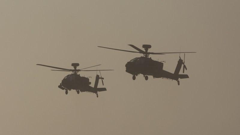 Nordostsyrien : Beschossen US-Hubschrauber einen Kontrollpunkt der syrischen Armee?