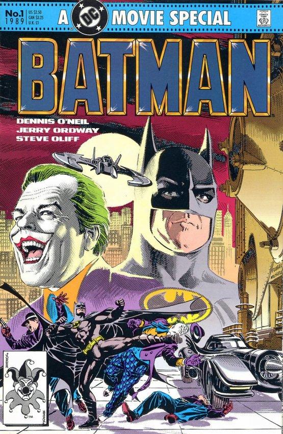 BATMAN 1989 ZINCO ADAPTACION FILM Ficha De Nmero