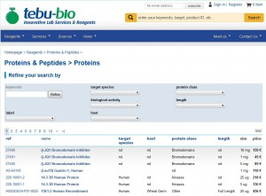 protein search engine general