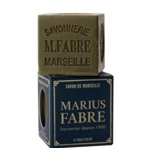 sapone di marsiglia con olio d'oliva cubo 200gr marius fabre tec-terreecolori calestano-parma