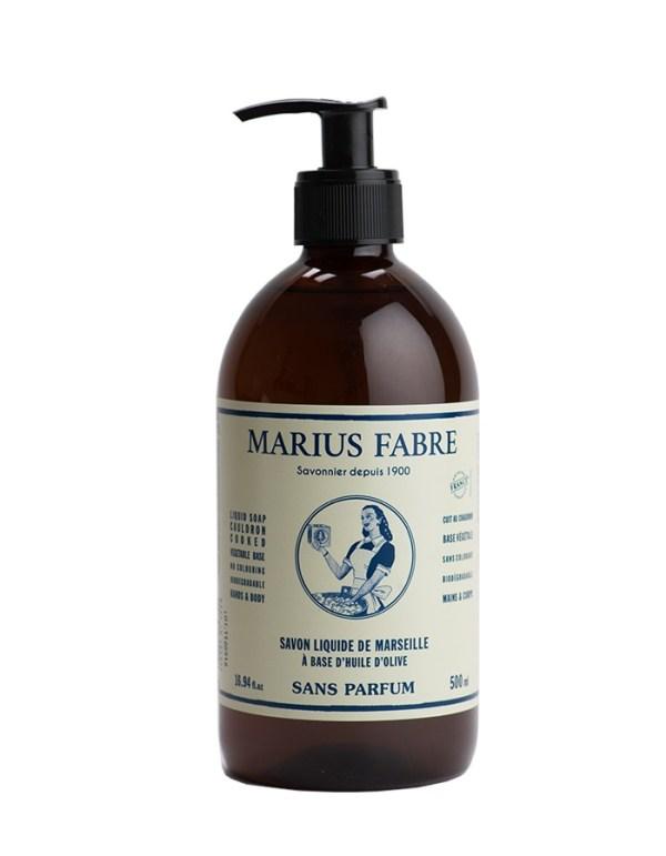 sapone liquido di marsiglia inodore marius fabre tec-terreecolori calestano-parma